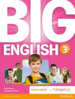 Big English 3 Pupil's Book and MyLab Pack