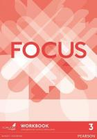Focus BrE 3 Workbook, 3, Focus BrE 3 Workbook