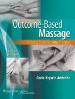 Outcome-Based Massage: Putting Evidence into Practice 3rd edition