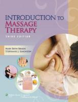Introduction to Massage Therapy 3rd edition