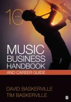 Music Business Handbook and Career Guide 10th Revised edition