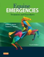 Equine Emergencies: Treatment and Procedures 4th Revised edition