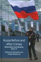 Russia Before and After Crimea: Nationalism and Identity, 2010 17