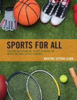 Sports for All: Creating an Intramural Sports Program for Middle and High School Students