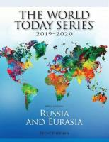 Russia and Eurasia 2019-2020 50th Edition