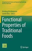 Functional Properties of Traditional Foods 2016 1st ed. 2016
