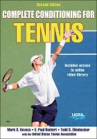 Complete Conditioning for Tennis 2nd Edition 2nd edition