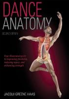 Dance Anatomy 2nd Edition 2nd edition