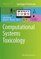 Computational Systems Toxicology Softcover reprint of the original 1st ed. 2015