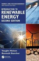 Introduction to Renewable Energy 2nd New edition