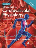Levick's Introduction to Cardiovascular Physiology 6th New edition