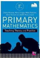 Primary Mathematics: Teaching Theory and Practice 8th Revised edition