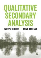 Qualitative Secondary Analysis