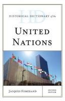 Historical Dictionary of the United Nations Second Edition