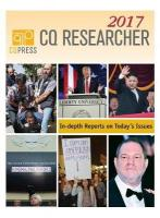 CQ Researcher Bound Volume 2017