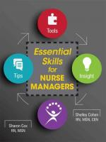 Essential Skills for Nurse Managers