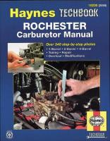 Rochester Carburetor Manual