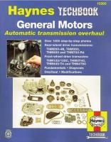 General Motors Automatic Transmission Overhaul Manual 2nd Revised edition