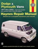Dodge & Plymouth Vans (71 - 03) 8th Revised edition