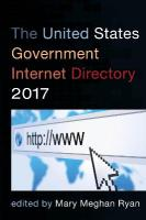 United States Government Internet Directory 2017