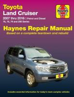 Toyota Land Cruiser Petrol And Diesel: 2007-2015, Part 92753