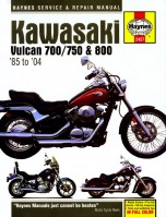 Kawasaki Vulcan 700/750/800 (85 - 06) New edition