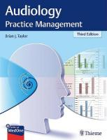 Audiology Practice Management 3rd New edition