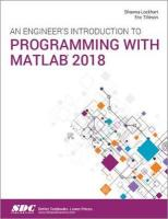 Engineer's Introduction to Programming with MATLAB 2018