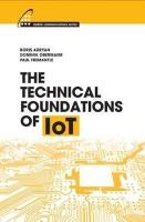 Technical Foundations of IoT