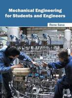 Mechanical Engineering for Students and Engineers