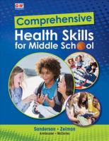 Comprehensive Health Skills for Middle School First Edition, Textbook ed.