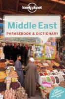 Lonely Planet Middle East Phrasebook & Dictionary 2nd New edition