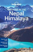 Lonely Planet Trekking in the Nepal Himalaya 10th New edition