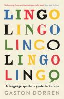 Lingo: A Language Spotter's Guide to Europe Main