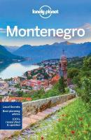 Lonely Planet Montenegro 3rd Revised edition