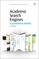 Academic Search Engines: A Quantitative Outlook