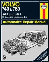 Volvo 740 & 760 Series (82 - 88) illustrated edition