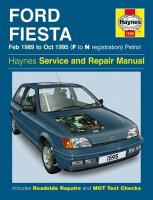 Ford Fiesta (Petrol) 1989-95 Service and Repair Manual New ed of 2 Revised ed of