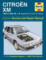 Citroen XM Service and Repair Manual 2nd Revised edition