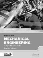 English for Mechanical Engineering Teacher Book Teacher's edition