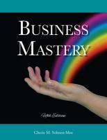 Business Mastery 5th edition