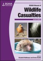 BSAVA Manual of Wildlife Casualties 2nd Edition