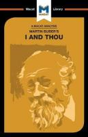 Martin Buber's I and Thou