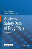 Analysis of Safety Data of Drug Trials: An Update 1st ed. 2019