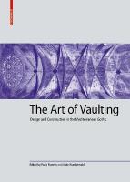 Art of Vaulting: Design and Construction in the Mediterranean Gothic 4 Ausschlagtafeln (Zickzackfalz)