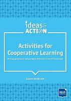 Activities for Cooperative Learning: Making groupwork and pairwork effective in the ELT classroom. Book with   photocopiable materials