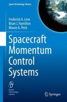Spacecraft Momentum Control Systems: A Comprehensive Guide 2015