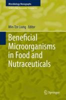 Beneficial Microorganisms in Food and Nutraceuticals 2015 1st ed. 2015
