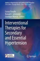 Interventional Therapies for Secondary and Essential Hypertension 2016