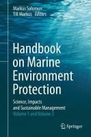 Handbook on Marine Environment Protection: Science, Impacts and Sustainable Management 2018 1st ed. 2018